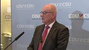 Germany: 'Fewer refugees' the goal says CDU/CSU Parliamentary group leader