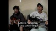Бразилски тийнейджъри се обясниха в любов на Лариса с песен