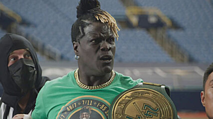 R-Truth gets a shocking assist when the Old Spice Night Panther attacks