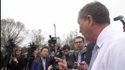 USA: John Kasich casts vote in Ohio Republican primary
