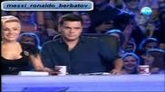 Тотална излагация смях X - Factor Bulgaria 12.09.11