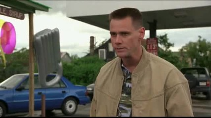 Me, Myself And Irene - gas station scene