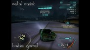 Момиче дрифти яко на Need for Speed