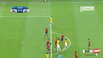 Бразилия - Испания 3-0 Финал 01.07.2013