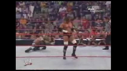 Wwe-john Cena Vs Edge Vs Triple H