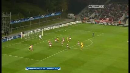 Sc Braga v Arsenal Sky Highlights - football video