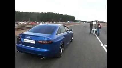 Audi rs6 Evotech vs Nissan Gtr stock