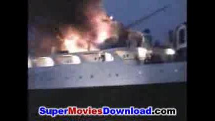 Кораб Се Разбива В Мост