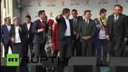 Turkey: Thousands attend Davutoglu speech ahead of polls on Sunday