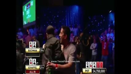 Покер битка м/у чифт Аса и чифт Попове