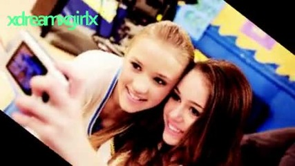 # Let's go! ^ Miley Cyrus. and. Emily Osment. ^ Sweet Friends! # ..