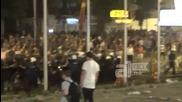 Ескалация на напрежението на протеста в Скопие