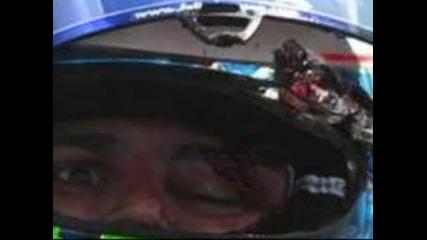 Лицетo на Фелипе маса след катострофата
