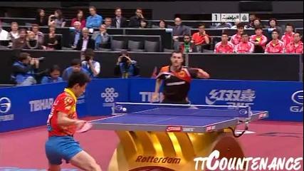 Джан Джикъ-тимо Бол , полуфинал,2011. май.,тенис на маса