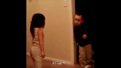 Малки сладки деца спорят!
