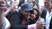 Selena Gomez At Nrj Radio Studios Interview Mg Meets Fans Outside