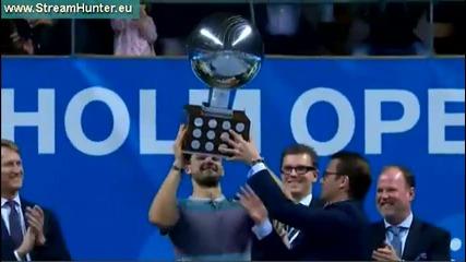 Исторически триумф за Григор Димитров ! Спечели първа титла след победа над №3 Давид Ферер