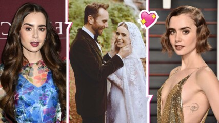 """Два пъти по-хубаво от """"Емили в Париж"""": Лили Колинс вдигна супер пищна сватба"""