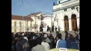 Митинг На Таксиджиите