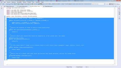 [1.7.2] Moding tutorials #5 -- Джам а.к.а стъкло ;дд