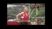 Йордан Йовчев във Етап Ninja Warrior One