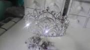 Тиара за коса с кристали- Queen of Beauty от Absoluterose.com