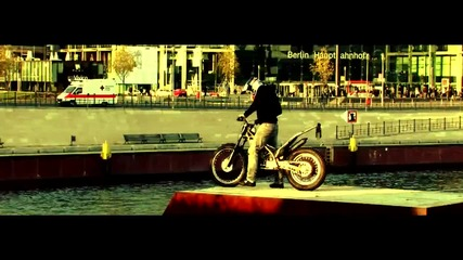 Julien Dupont свободен стил с мотор в Берлин
