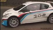 Крис Мийк - тест на сняг - Peugeot 208 R5 T16