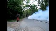 Touareg W12 twin турбо тест