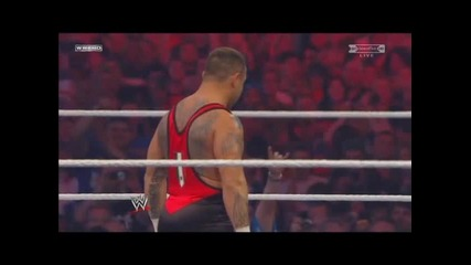 • Wrestlemania 27 • 8 man tag team match