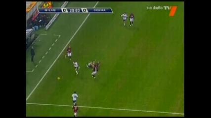 Милан - Дженоа 1:1