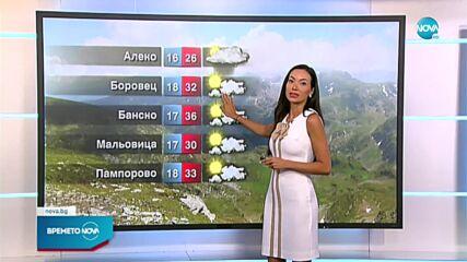 Прогноза за времето (04.08.2021 - централна)