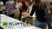 Испания: Кметицата на Барселона Ада Колау събира гласове в Каталунските избори