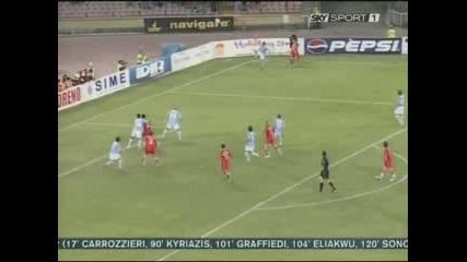 Chiellini Napoli 0 - 1 Juventus