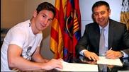 Лионел Меси преподписа с Барселона