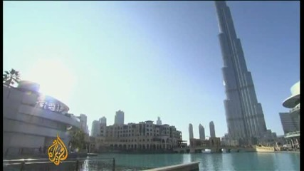 Най - високата сграда в света отвори врати - Burj Dubai