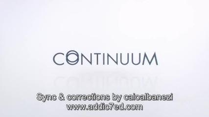 Continuum s03e13 + Bg Sub