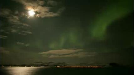 Красотата на северното сияние