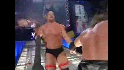 Wwf - Undertaker & Kane & Hardyz vs. Austin,  Hhh,  Edge,  and Christian