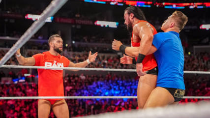 Raw men's team fights internal turmoil at Survivor Series: WWE Now