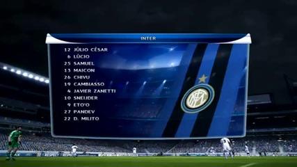 Pes 2011 Pc Full Gameplay Real Madrid vs Inter -