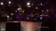 Rihanna - Take A bow ( Aol Session 2010 Live)