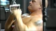 Брок Леснар на корицата на списанието Muscle & Fitness