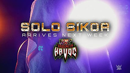 Solo Sikoa is set to make his NXT debut at Halloween Havoc: WWE NXT, Oct. 19, 2021