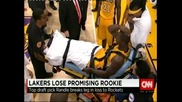 Тежка контузия на новобранец помрачи старта на НБА
