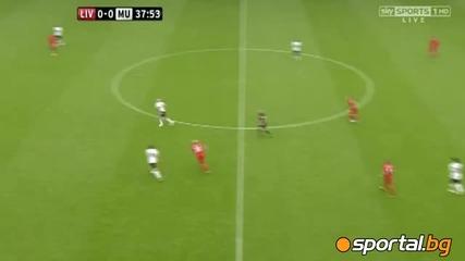Ливърпул 1:2 Манчестър Юнайтед