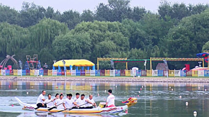 China: Beijing unveils new dragon boat for Tokyo Olympics