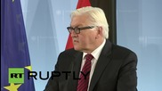 Germany: Russia and USA needed to achieve 'political solution' in Syria - Steinmeier