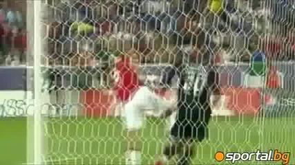 Бербатов с първи гол за сезона, Юнайтед разгроми отбора на Бекъм и Анри