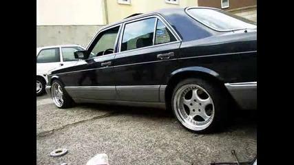 Mercedes - Benz W126 S560, W124 E500
